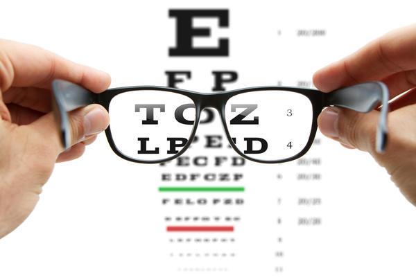 a látásromlás tesztje