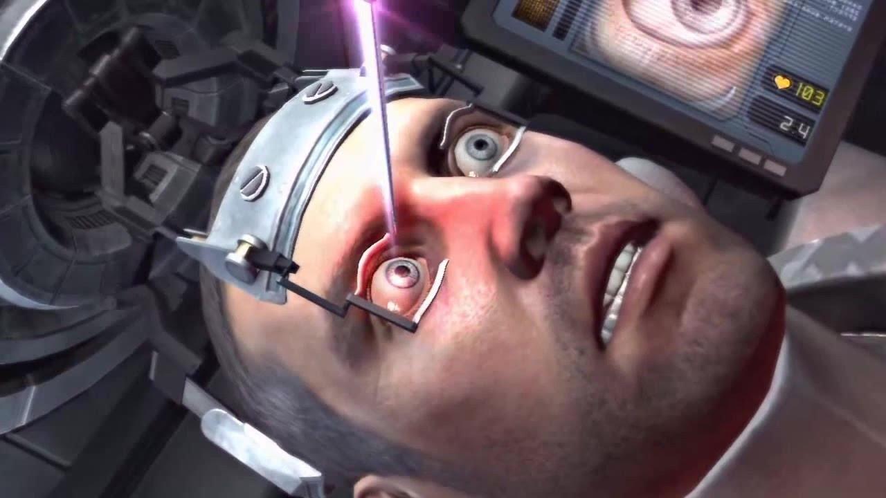 lézeres látás stimuláció MR és látás