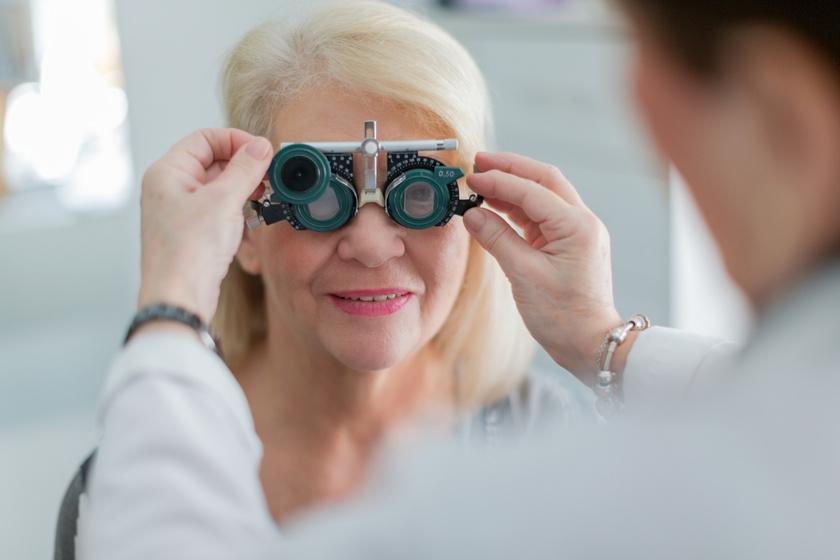 fizikai látásromlás után romlik a látás
