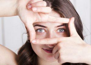 ujjak és látás