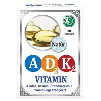 Dr. Chen A+D3+K2 vitamin kapszula 30 db