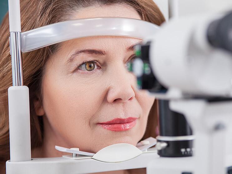 a látás minőségének ellenőrzése