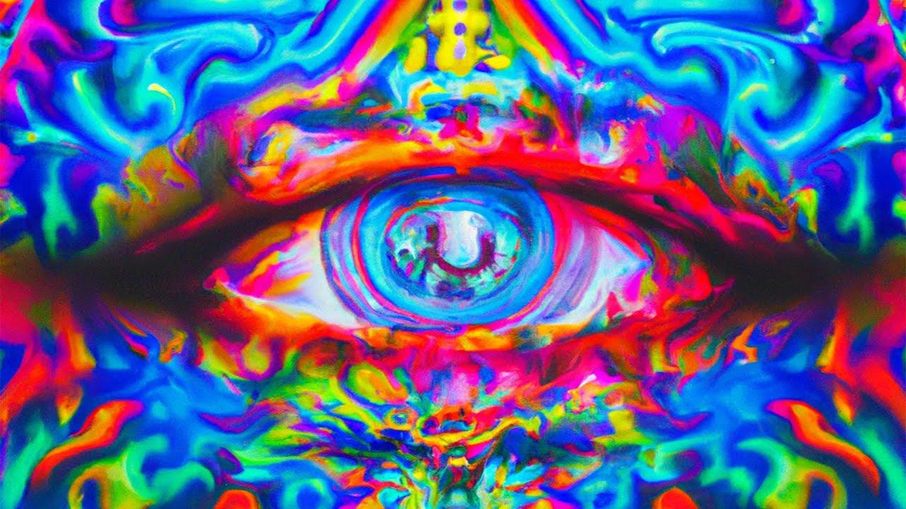 homályos látás, pislogó körök a szemben