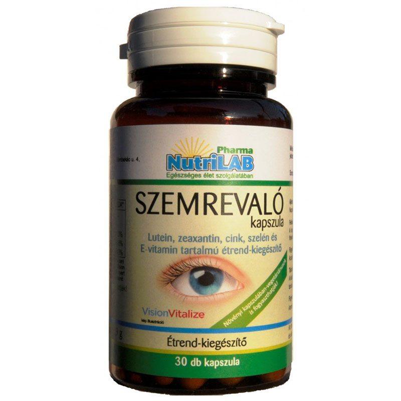 a menopauza látási problémái