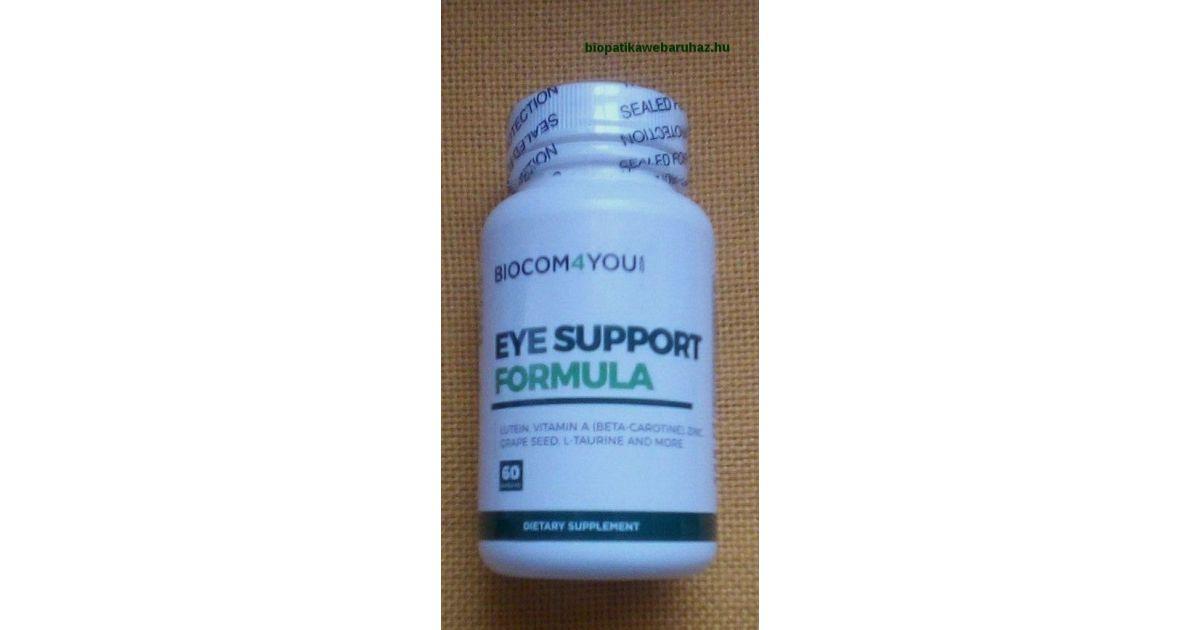 vitamin termékek a látás javítására
