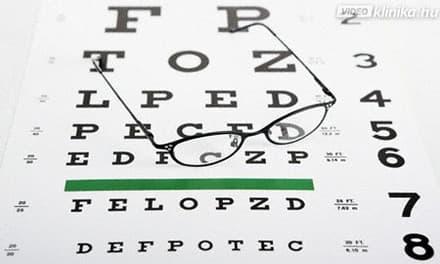 élő látásvizsgálat