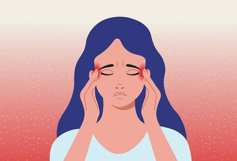homályos látás fejfájás