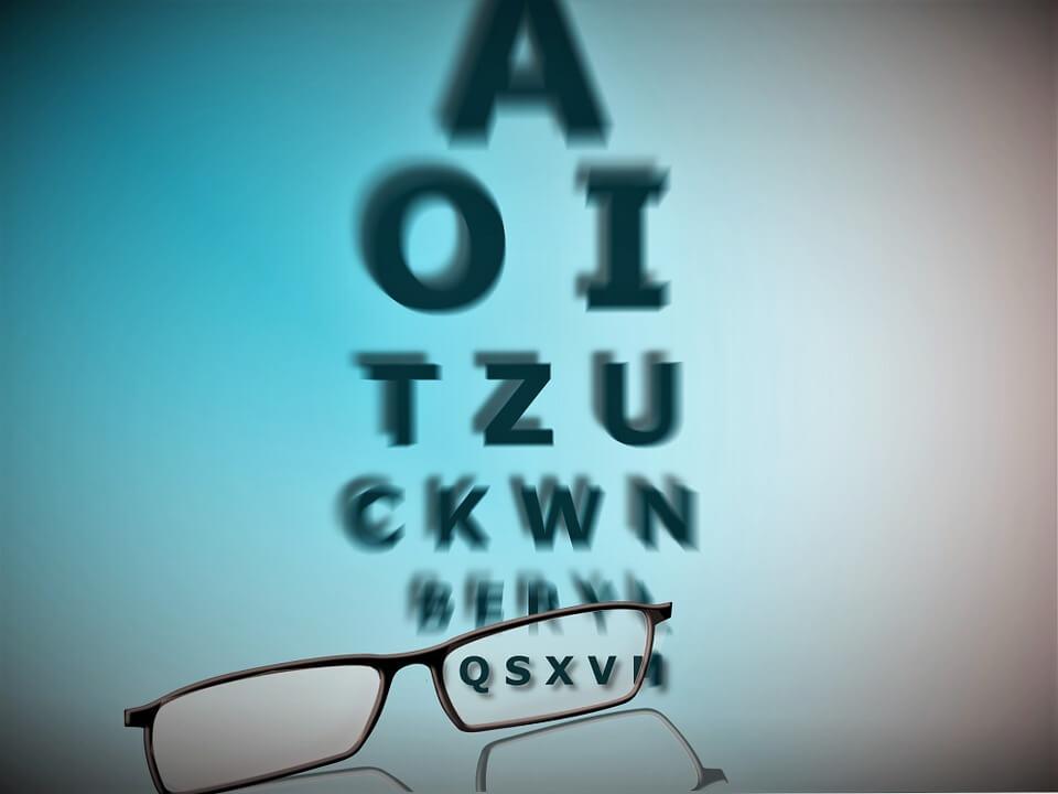 2 ez a látásélesség