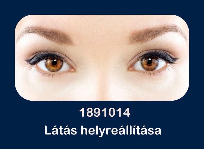 a látás helyreállítása olyan egyszerű