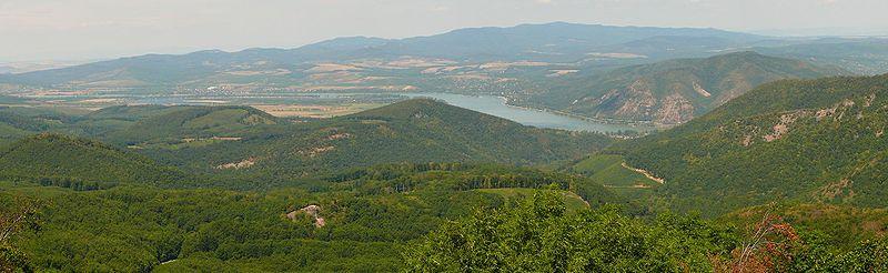 kilátás domborzata