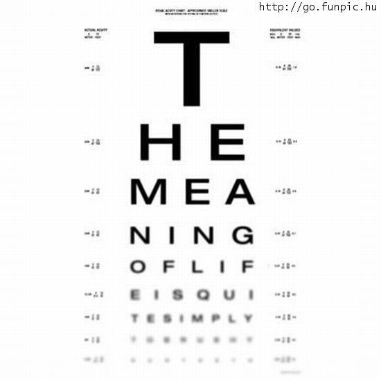 Látásvizsgáló tábla