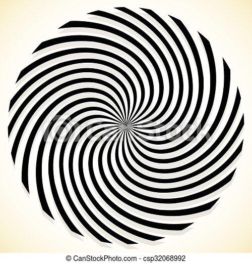 forgó spirál a látáshoz ami növeli a látásélességet