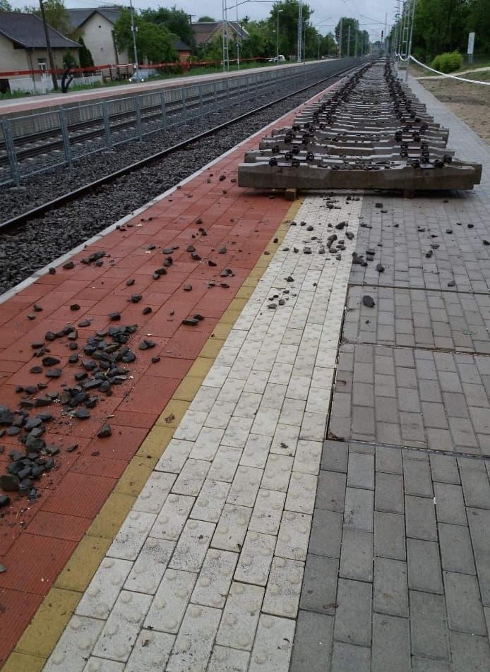 gyenge látással a vasúton