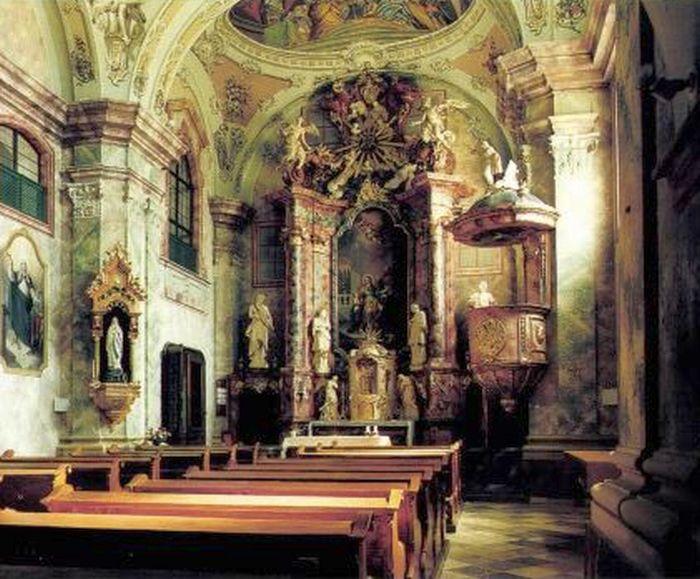 helyreállított látomás templom