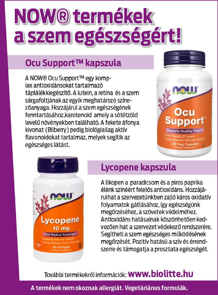 vitaminok segítenek a látásban