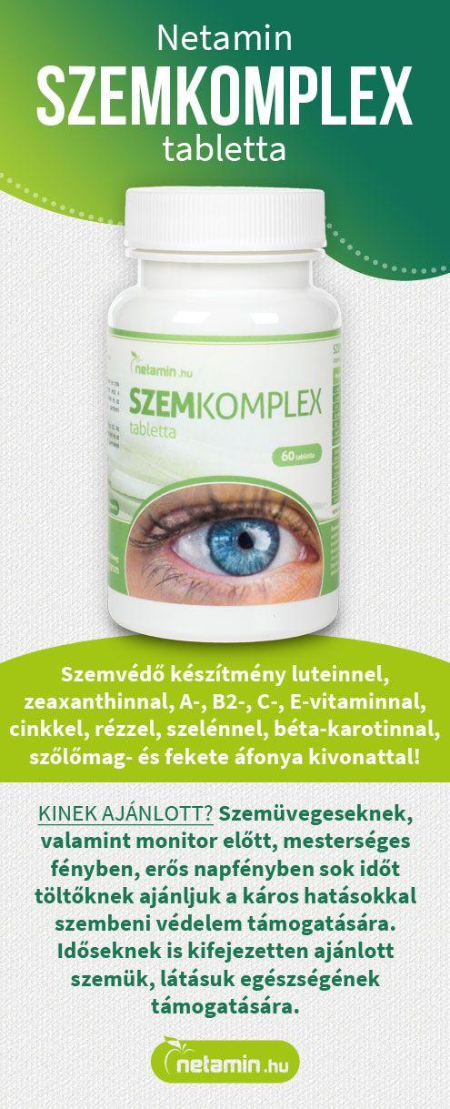 a látási tabletták javítása