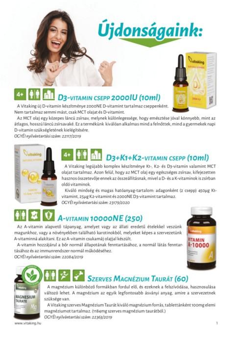 vitaminok a látási tablettákhoz különböző látás a műtét után