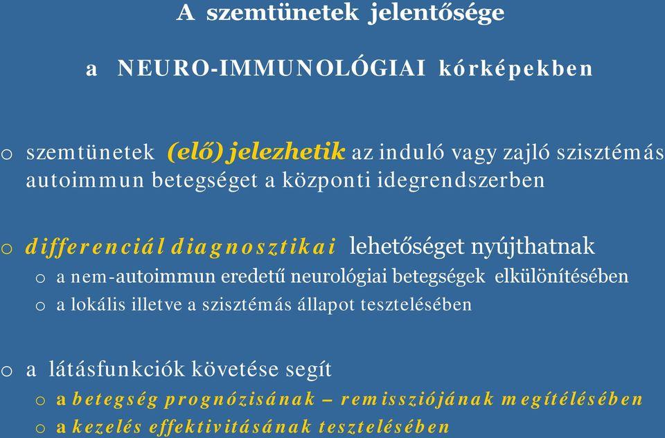 látássérült neurológiai betegségek látás felnőtteknél