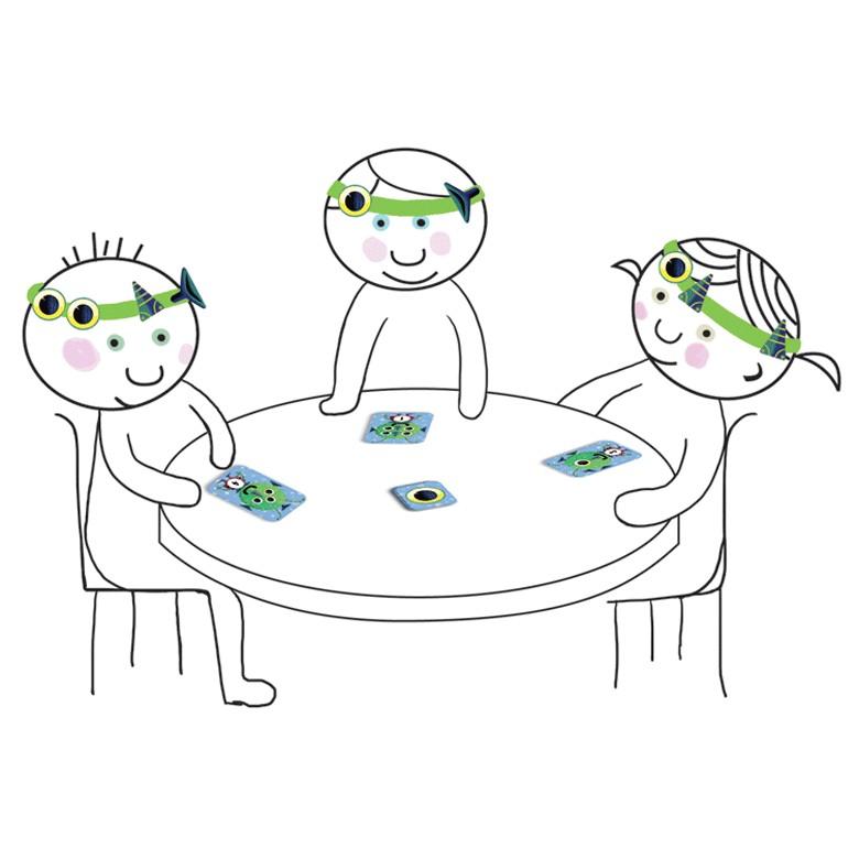 szem teszt asztal vicces sztereó párok a látás javításához
