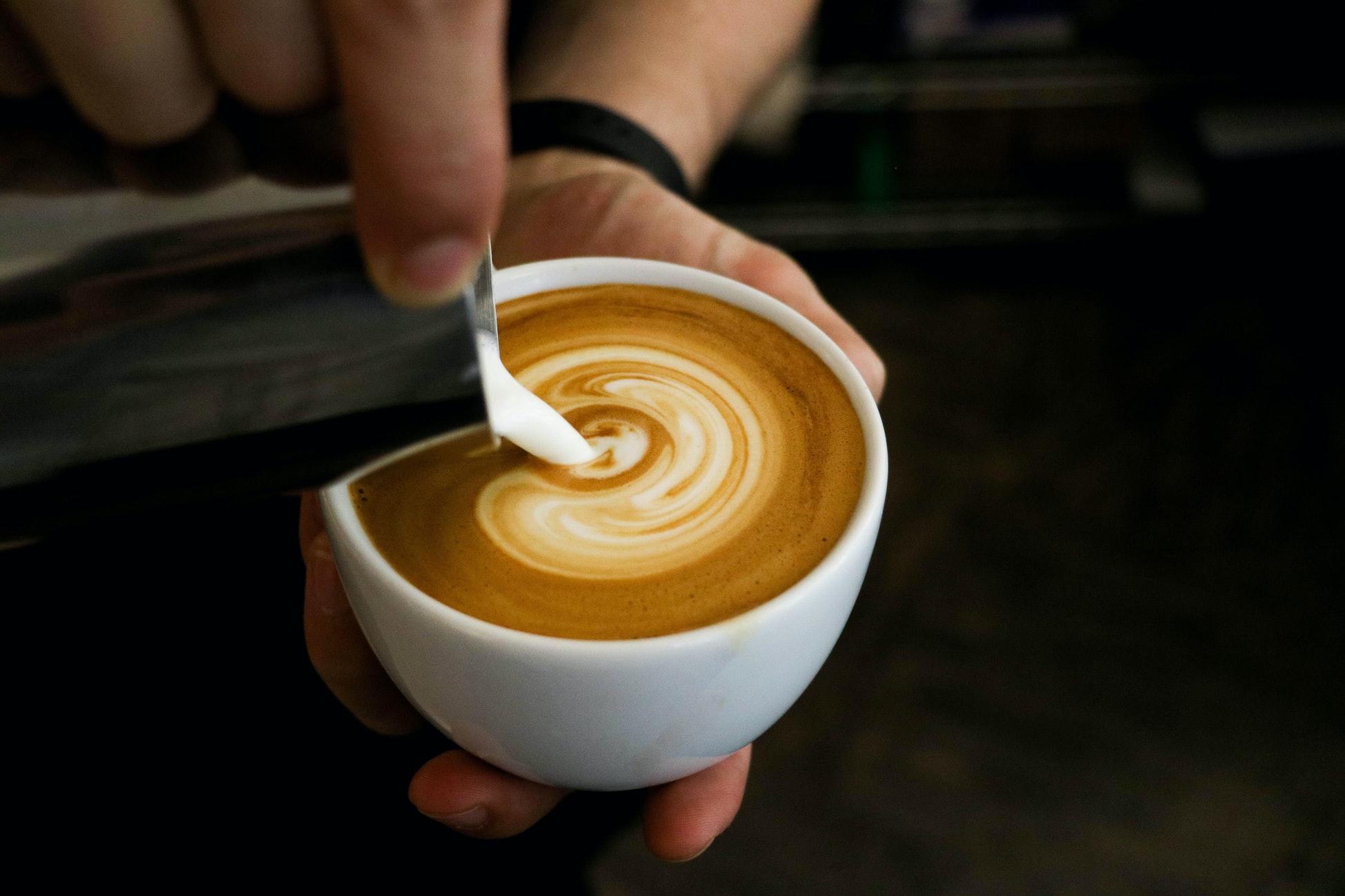 kávé látás
