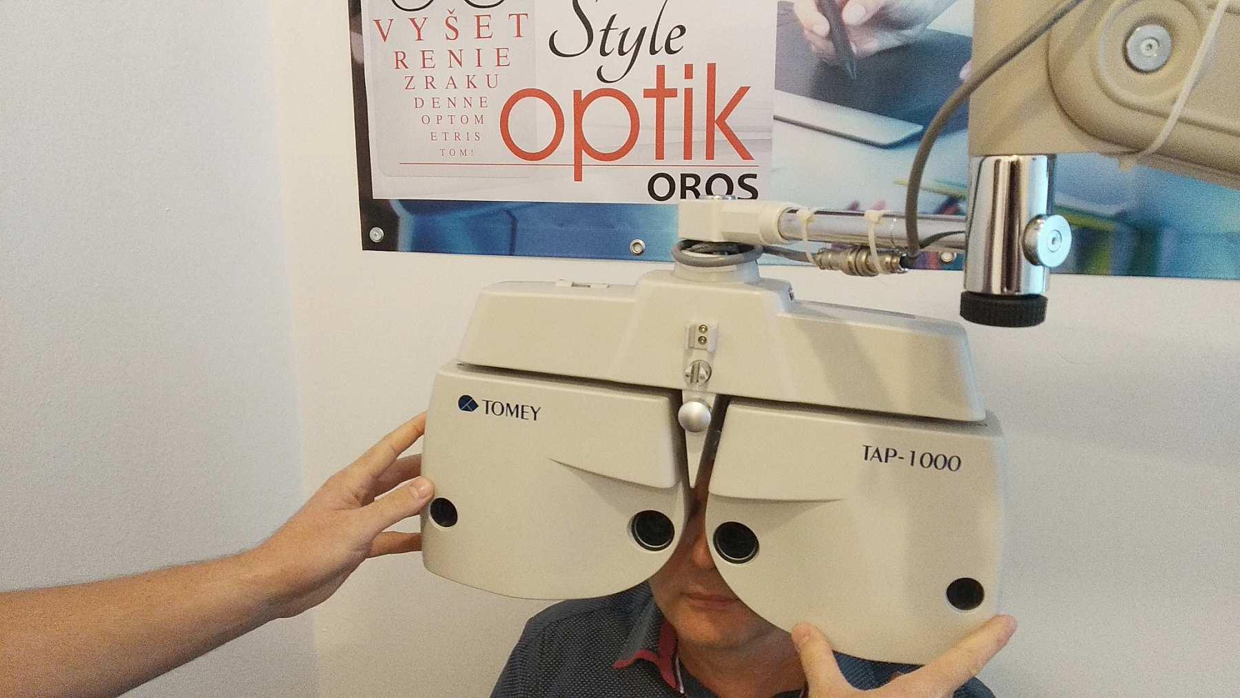 Látásvizsgálat hiperópiás asztalra