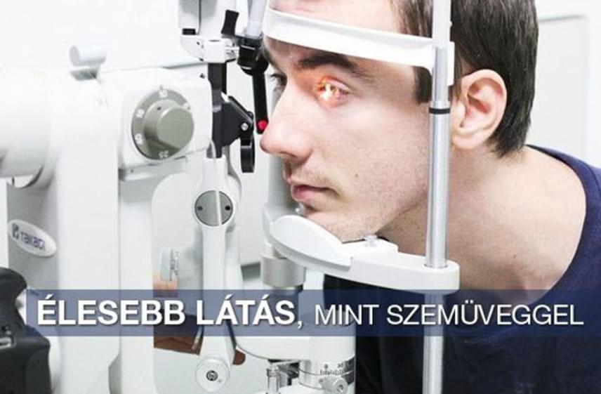 látásteszt berendezés víz a látás javítása érdekében