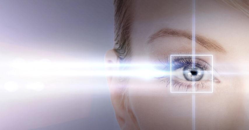 a jobb szem csökkent látásélessége