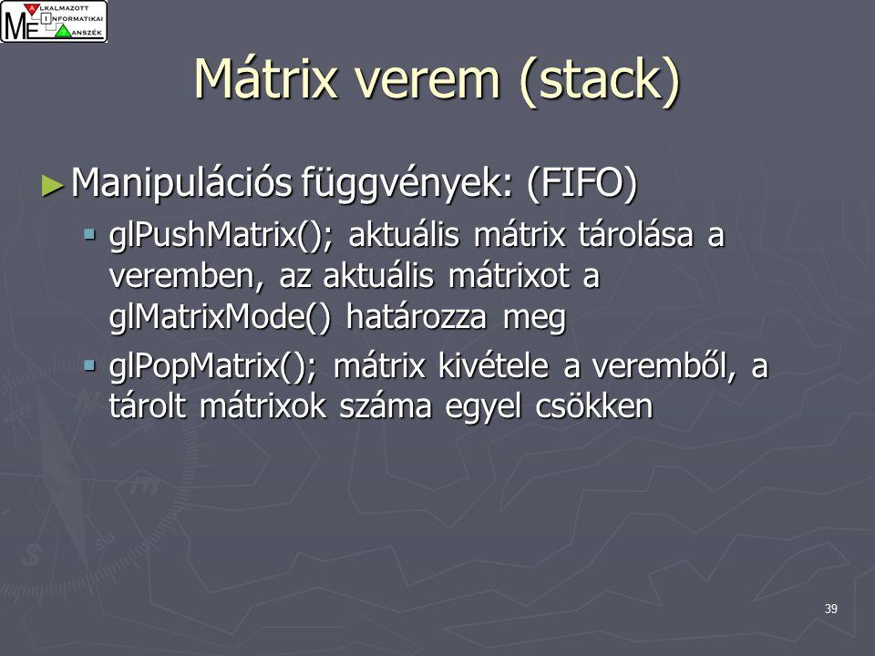 Ips mátrix és látás