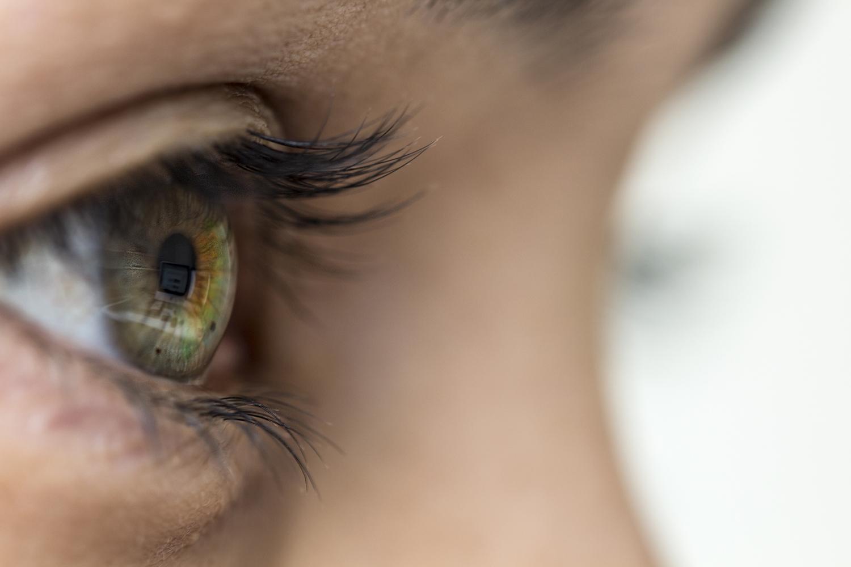 a szem foltja zavarja a látást