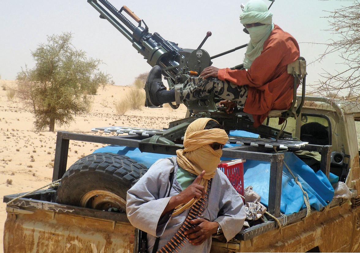 a terroristák látványa