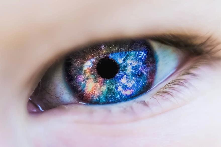 kontaktlencsék látás