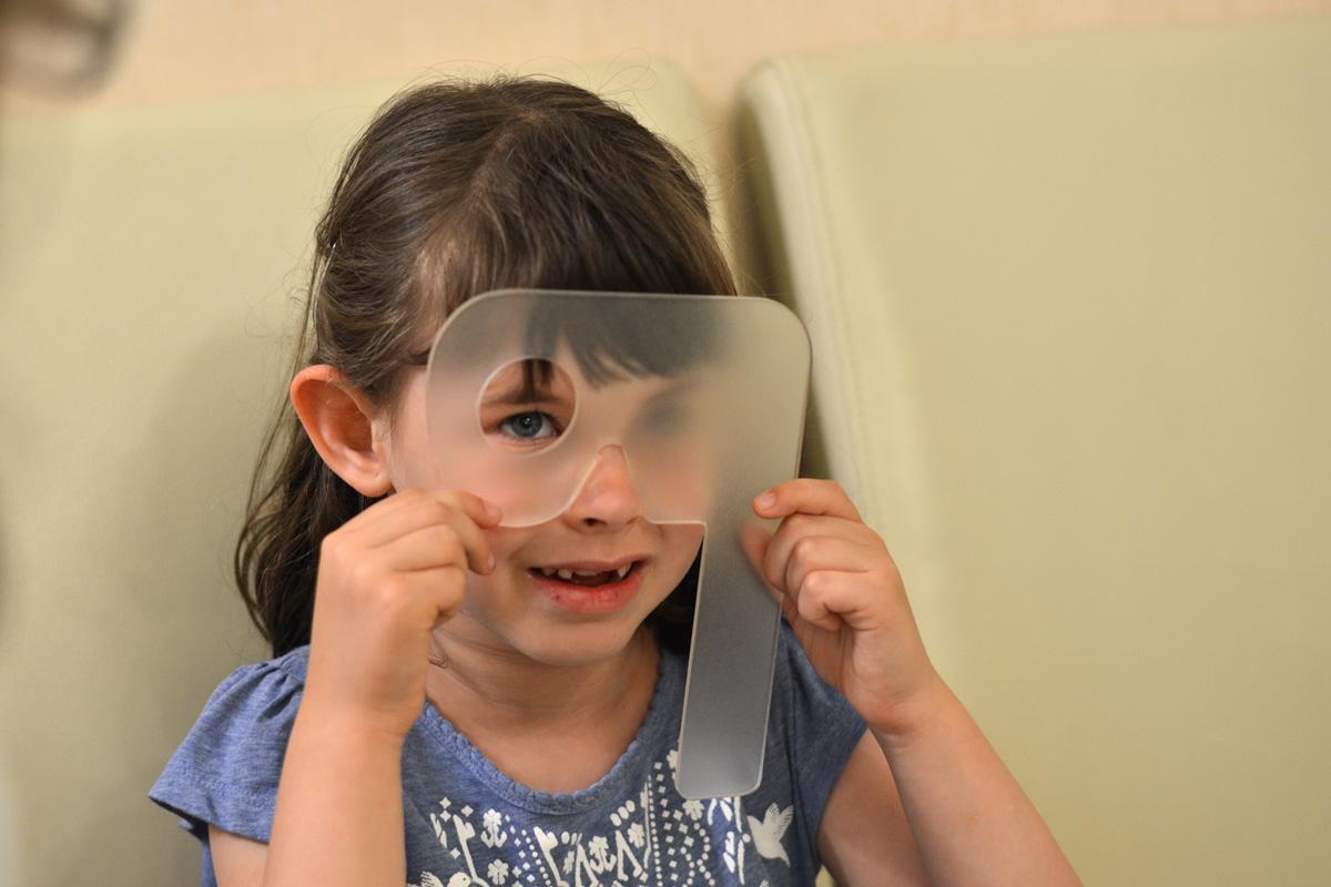 ijesztő látásvizsgálat a látásélesség romlásával különböztesse meg