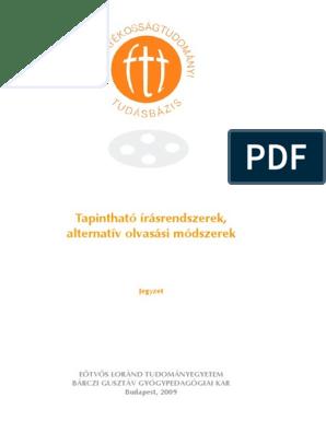 Alapelvek honlapok látássérültek számára is olvasható változatainak elkészítéséhez