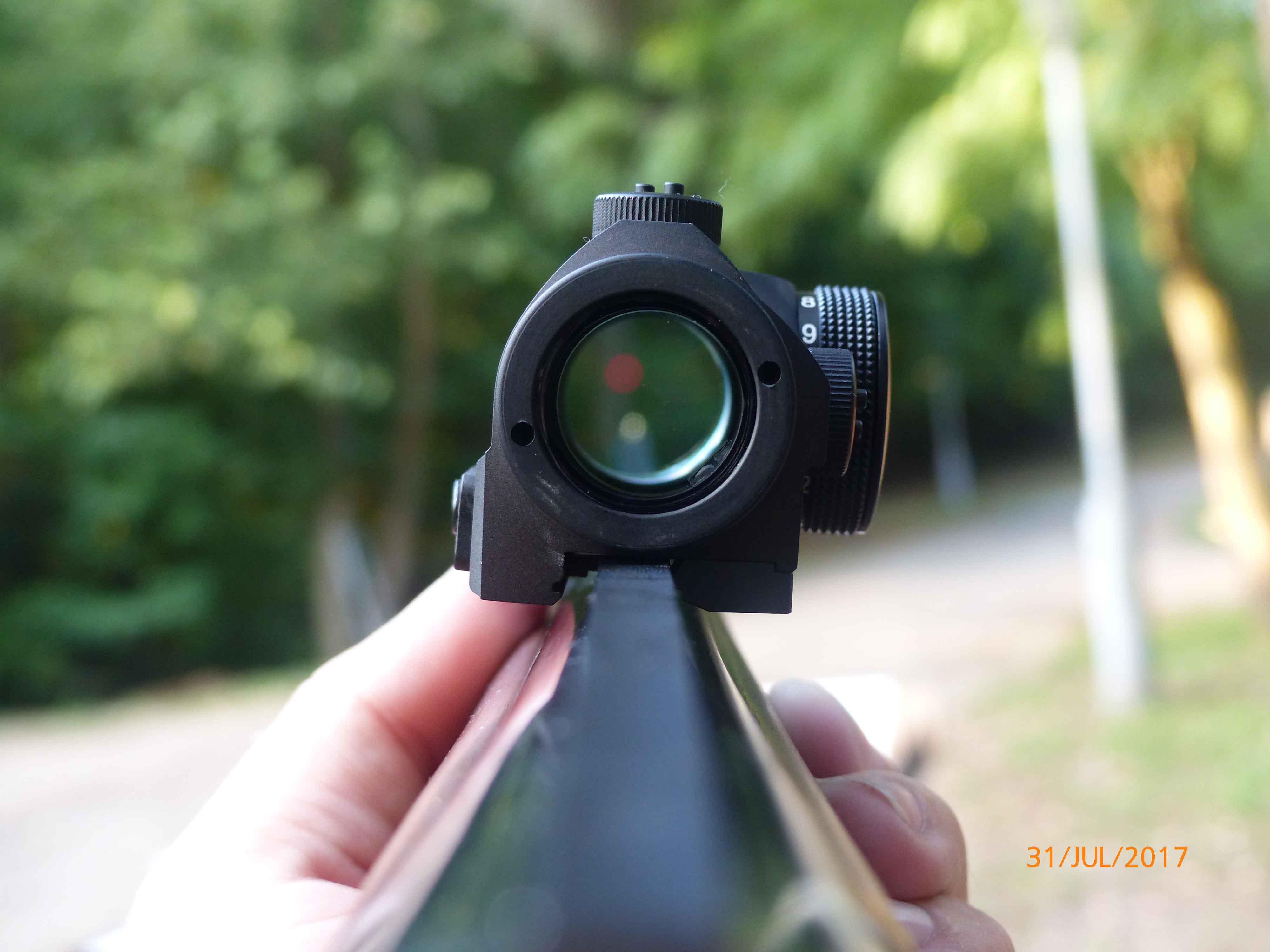 Red Dot irányzék - Optika