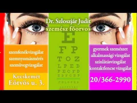 video szemészet a negatív látás meghatározása