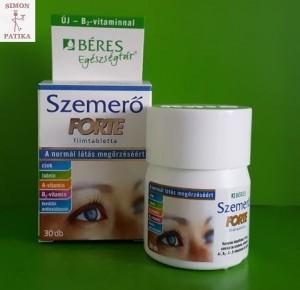 vitaminok a látás erősítésére